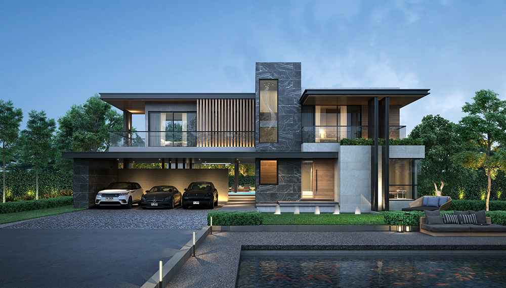สไตล์ MODERN CONTEMPORARY